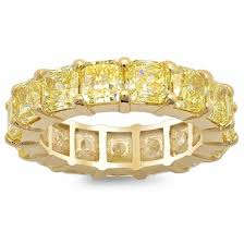 eternity rings gold images Yellow diamond and yellow gold eternity ring jpg