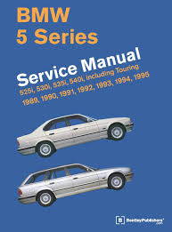 bmw 5 series e34 service manual 1989 1990 1991 1992 1993