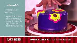 how to make a flower cake dessert decorating tips u0026 tecnhiques