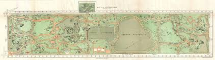 Central Park Zoo Map File 1870 Vaux And Olmstead Map Of Central Park New York City
