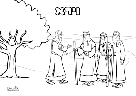 coloring page for parashat vayera for kids חגים pinterest