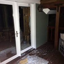 glass door broken bear photos tahoe bear busters