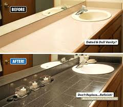 refinish bathroom sink top paint bathroom vanity top best refinishing images on bathroom