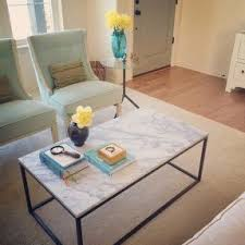 White Marble Top Coffee Table White Marble Top Coffee Table Foter