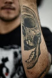 half skull best ideas gallery