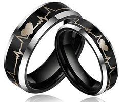 Black Wedding Rings by Black Wedding Rings For Men And Women Unique Black Wedding Rings