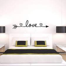 living room wall stickers wall decals and stickers new design love arrow wall decals vinyl