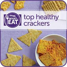 what to eat with diabetes top crackers diabetic living