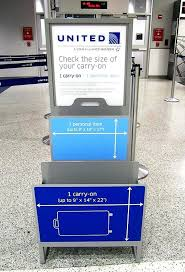united carry on rules united airlines baggage united airlines cracking down on baggage
