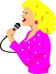 free green singer singing clipart cliparts and others art