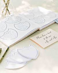 guestbooks for weddings 68 guest books from real weddings martha stewart weddings