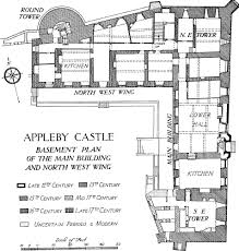 Castle Floor Plan by Appleby British History Online