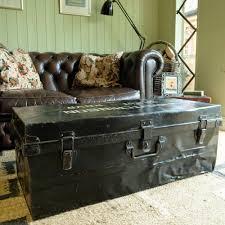 Coffee Table Storage by Vintage Industrial Trunk Coffee Table Storage Box Military Wwii