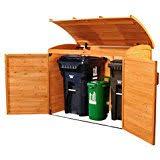 suncast gh1732 outdoor trash hideaway amazon ca patio lawn u0026 garden