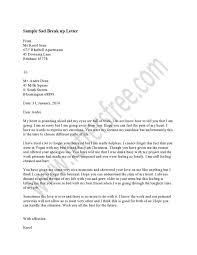 writing sad break letter the best way inform your partner people