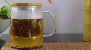 tea infuser mug with lid brewing loose leaf black tea u0027yunnan
