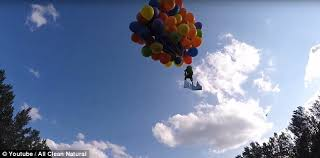 calgary balloon man apologizes for lawn chair flight daily mail