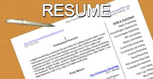 Digital Marketing Specialist Resume Resume Digital Marketing Freelancer Dan Christensen