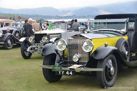 yellow rolls royce pebble beach concours d u0027elegance 2014 picture gallery