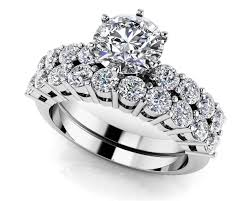 Engagement Wedding Ring Sets by Customize Your Wedding Set U0026 Matching Diamond Bridal Set