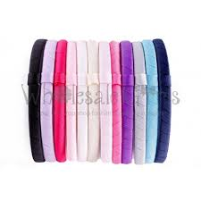 plastic headbands wholesale plastic headbands grosgrain ribbon wrapped headbands