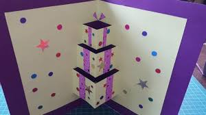handmade cards teaserow to make pop up card