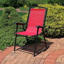 sunnydaze mesh outdoor suspension folding patio lounge chair choose