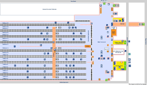 Train Floor Plan by National Rail Enquiries