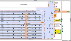 Eurostar Route Map by National Rail Enquiries