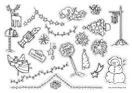 learn draw christmas decoration