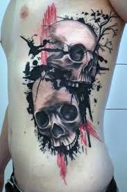 terrific skulls rib cage