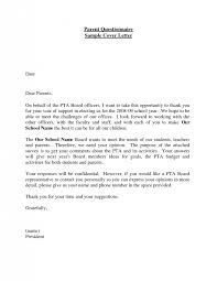 survey cover letter template 6700