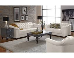 White Leather Chesterfield Sofa Impressive City Furniture Living Room Sets Using White Leather