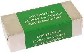 beurre de cuisine beurre de cuisine migros 100g calories 742 kcal protides