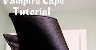 Vampire Cape Creative Mommas Vampire Cape Tutorial