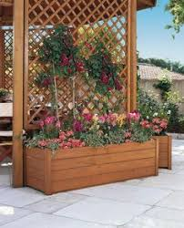 Trellis As Privacy Screen Lattice Privacy Screen Planter My Projects Pinterest