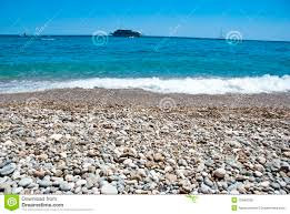 beach and cruise ship royalty free stock images image 15046789