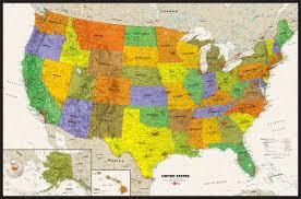 Western Us Map My Blog Western States Wall Map Mapscom Map Usa Contemporary Usa Wall Map Maps Com