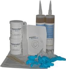 epoxy injection concrete wall repair kit basement