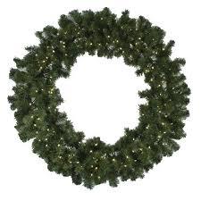 pre lit wreath 72 inch diameter pre lit led wreath