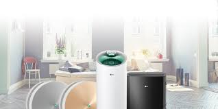lg air purifiers smart stylish silent air quality solutions