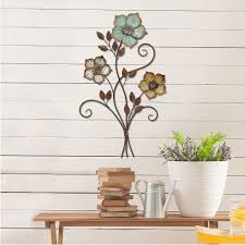 blessings unlimited home decor stratton home decor color flower bunch metal wall decor