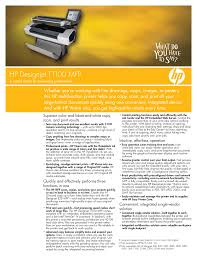download free pdf for hp designjet t1100 mfp printer manual