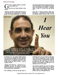 le kiefer hearing aid center i hear you california business journal