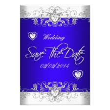 Royal Blue Wedding Invitations Royal Blue Wedding Invitations U0026 Announcements Zazzle