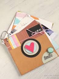 photo album scrapbook instagram mini scrapbook album tutorial inspiration