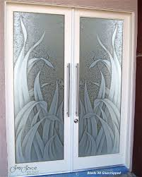 custom door glass double entry doors with custom frosted glass sans soucie art glass