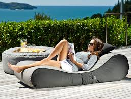 outdoor bean bag lounger by lujo living design milk