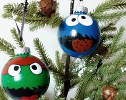 smurfette ornament smurf ornament smurfette painting smurf