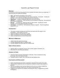 biology lab report template lab report format biology